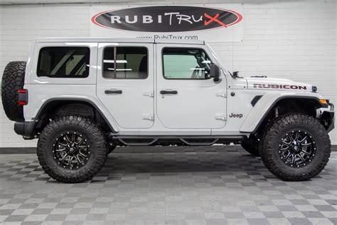 2018 Jeep Wrangler Rubicon Unlimited Jl Bright White