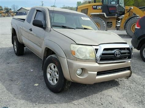 Toyota Tacoma 2007 For Sale by 2007 Toyota Tacoma Prerunner For Sale At Copart