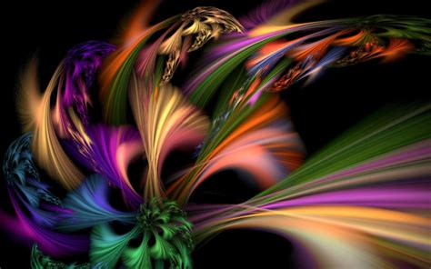 colorful abstract wallpaper colorful fractal abstract wallpapers hd desktop and