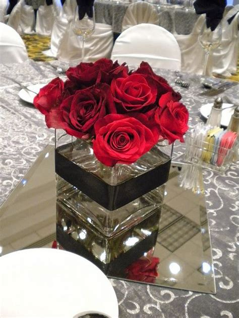 red rose centerpiece if i have a wedding some day rose