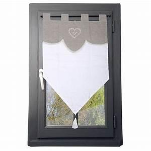 Rideau De Porte Fantaisie : voilage vitrage rideau et voilage eminza ~ Premium-room.com Idées de Décoration