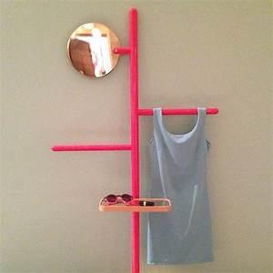 Miroir Cuivre Rose : pas en rose mais s 39 inspirer du principe avec des tubes en cuivre un miroir plus grands ~ Melissatoandfro.com Idées de Décoration
