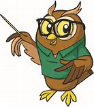 Image result for cartoon owl teacher