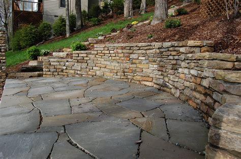 fieldstone patio stonegallery living stone masonry