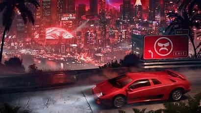 Cyberpunk Lamborghini 4k Wallpapers Digital Cars Artstation