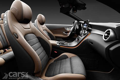 The interior benefits are clearly visible thanks to the interior light package. 2016 Mercedes C-Class Cabriolet Photos | Cars UK