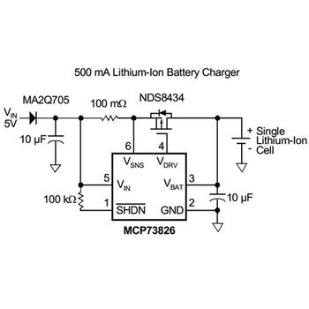Output Power Bank Mobile Battery Charger Circuit