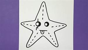 Comment Dessiner La Mer : comment dessiner une toile de mer kawaii youtube ~ Dallasstarsshop.com Idées de Décoration