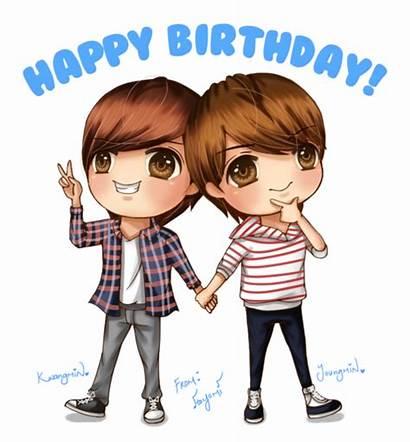 Twins Birthday Happy Jo Boyfriend Kpop 4ever
