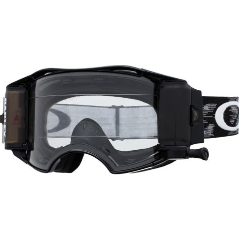 oakley motocross goggle oakley airbrake mx with race ready roll off system goggles