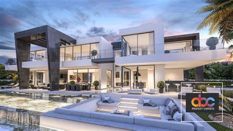 modern villa  sale  urbanization bel air estepona