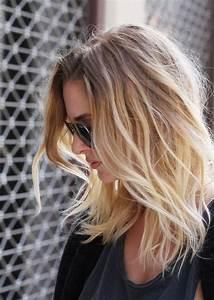 Coiffure Blonde Mi Long : 1001 looks impressionnant avec le balayage blond hair cheveux mi long coiffure cheveux mi ~ Melissatoandfro.com Idées de Décoration