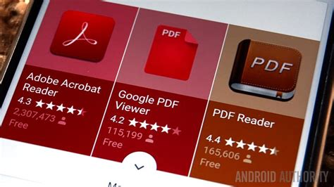 pdf reader for android 15 best pdf reader apps for android android authority