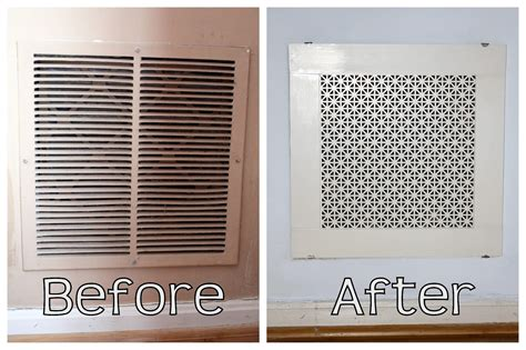 Decorative Return Air Filter Grille by Homevolution Diy Return Air Grille That S Actually Pretty