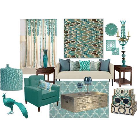 quot aqua blue living room quot by truthjc on polyvore aqua