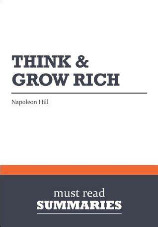 summary   grow rich napoleon hill   read