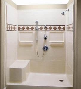 Shower stall kits corner tub and bathroom on pinterest for Bathroom stalls for sale