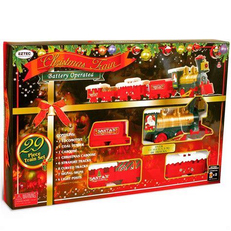 sterling  pc bo christmas train set