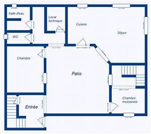 plan maison maroc ventana blog With plan d une maison marocaine