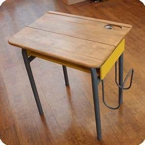 Bureau Enfant Vintage : meubles vintage meubles vintage enfant ancien bureau d 39 colier avec porte cartable ~ Teatrodelosmanantiales.com Idées de Décoration