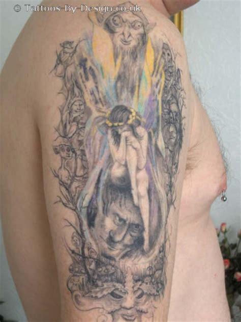 Flower Tattoo Arm Bands