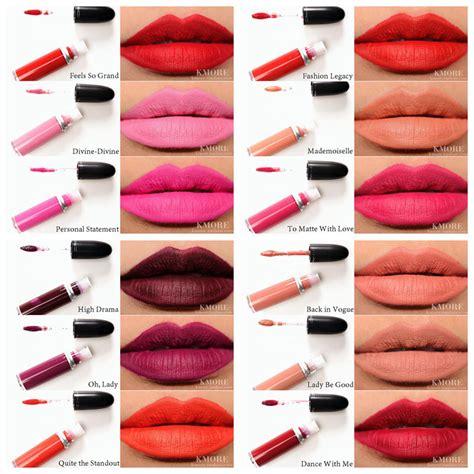 Matte Mac Lipstick New Brand Mac Lipstick Retro Matte Liquid Lipcolour Make