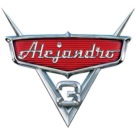 Cars Logo by Logo De Cars Personalizado Nombre Ni 241 O El Mejor 100