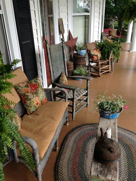 605 Best Images About Primitive Front Porches On Pinterest