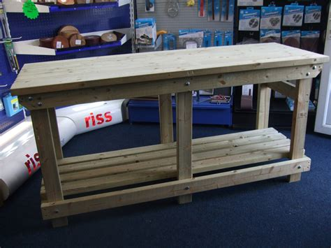 custom heavy duty work bench  wells timber products