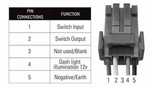 Lightforce Harness To Single Switch 8 Pin Adaptor