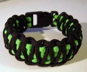 Stormdrane s Blog Black over neon green paracord bracelet