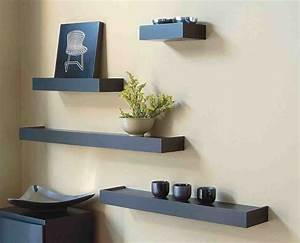 Shelves for the living room modern house for Wall shelving living room