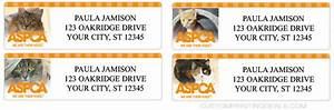 discount checks in mail aspca labels custom printing deals With aspca address labels