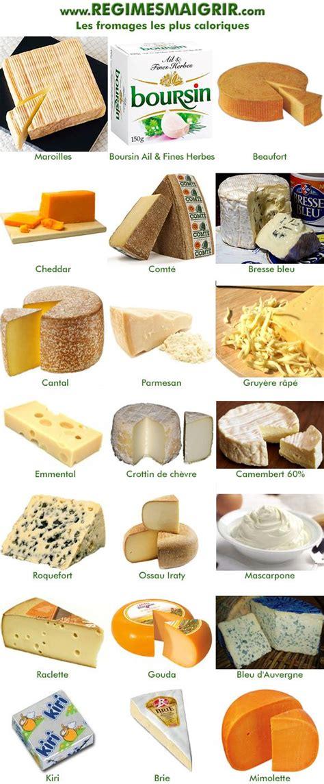 fromages les moins et les plus caloriques bienfaits sant 233