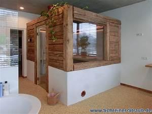 Bett Alte Balken : badezimmer sauna sauna im eigenen bad schreiner straub ~ Sanjose-hotels-ca.com Haus und Dekorationen