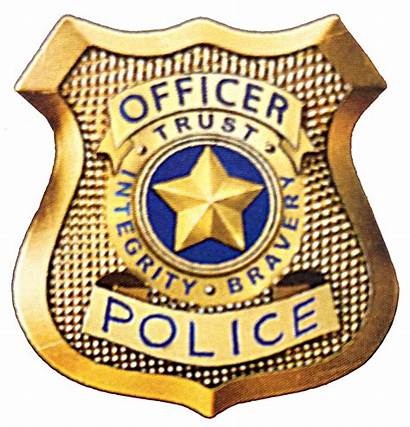 Badge Police Printable Clipart Officer Badges Detective