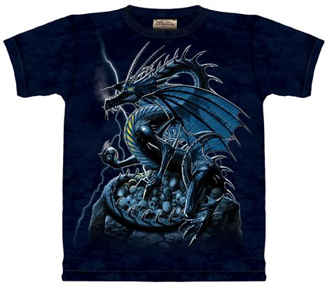 skull dragon t shirt 10 2054