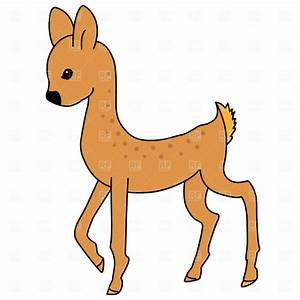 Baby Deer Clipart - The Cliparts