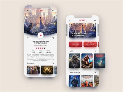 netflix mobile netflix mobile app redesign dribbble ui interface