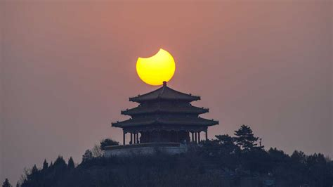 solar eclipse       partial eclipse