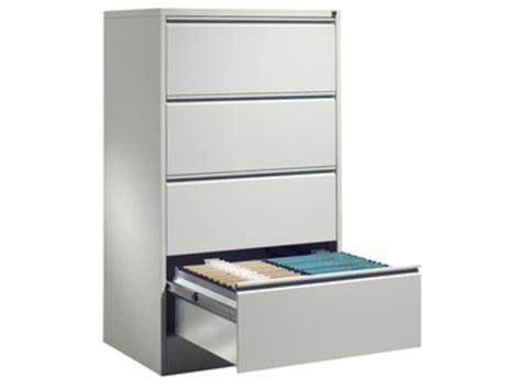 meuble bureau tiroir meuble bureau pour dossier suspendus 2 rails 4 tiroirs h