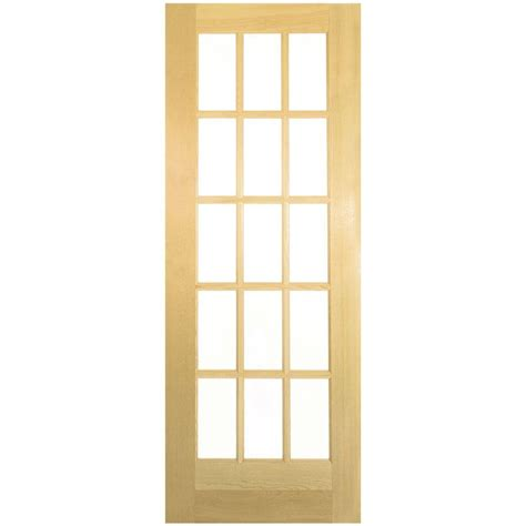 home depot interior doors with glass jeld wen 28 in x 80 in woodgrain flush unfinished