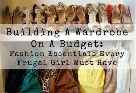 Wardrobe Basics On A Budget how to dress in fashion within a budget