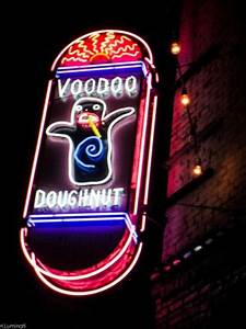 Voodoo Doughnut Sign Picture of Voodoo Doughnut
