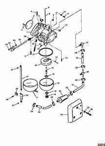 Force 120 Hp  1997  Carburetor Parts