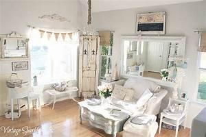 Top 15 beauty shabby chic white living room designs easy for Chic interior room design ideas