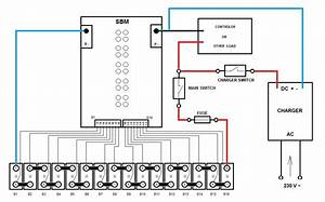 Lithium  U0026 Solar Power Lifepo4  Sbm Connection Diagram The
