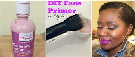 Diy Face Primer For Oily Skin