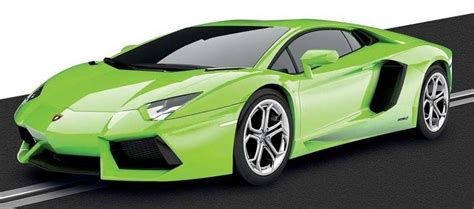 Scalextric C3660 Lamborghini Aventador Lp 7004 Lime Green