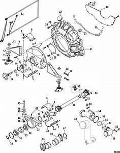 Mercruiser 496 Mag  H O  Model  Jackshaft Components Parts